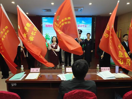 海口農商銀行營業部獲評全省首批青年文明號創建示范點