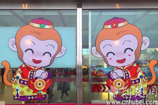 湖北襄阳东风汽车_武汉天河机场打造年味主题航站楼_新浪湖北_新浪网