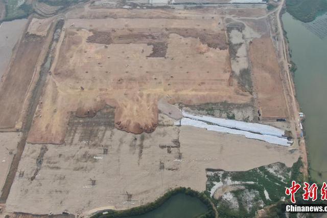 鄂州機場基礎性工程施工 建成后將成國際專業貨運樞紐