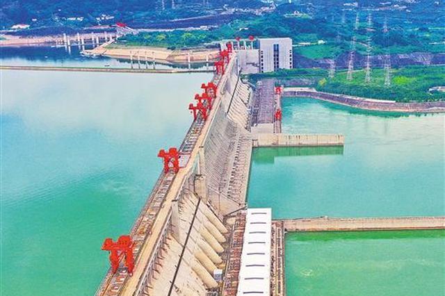 長江委發紅色預警 三峽出庫量減至1.9萬立方米每秒