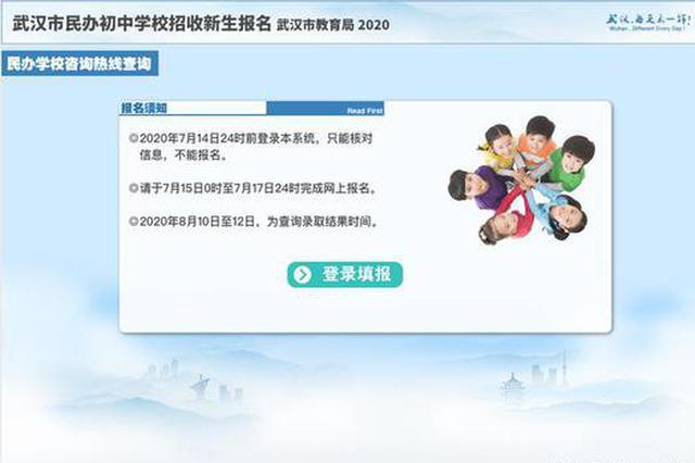 最新!2020年武漢市民辦初中招生政策來了