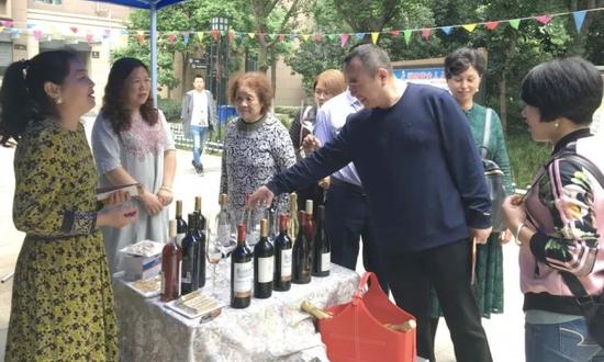 △坐標:國際城k4,紅酒品嘗受歡迎