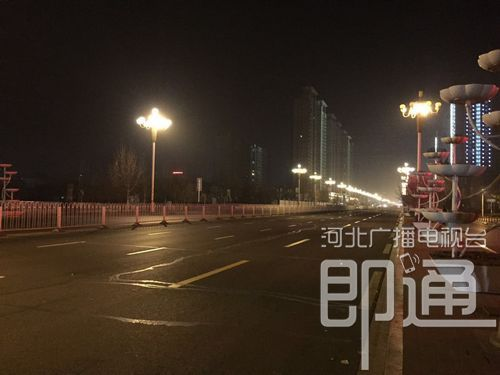 河北街景。_河北天气:今日大晴天 周末迎降温_新浪河北_新浪网