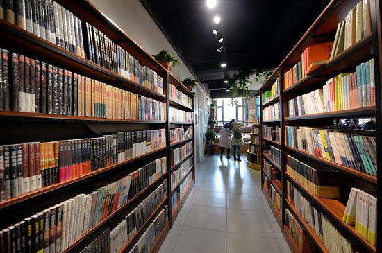城市书房建筑面积不少于80平方米