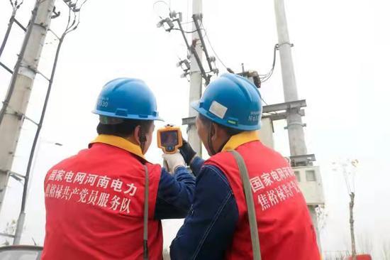 河南省历史首次在冬季创出最大用电负荷