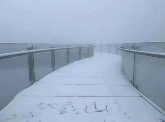 河南多地迎初雪
