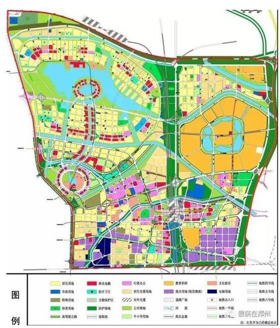 郑汴新区规划图_全球第二名校落户郑州 地址可能选在这个位置_新浪河南_新浪网