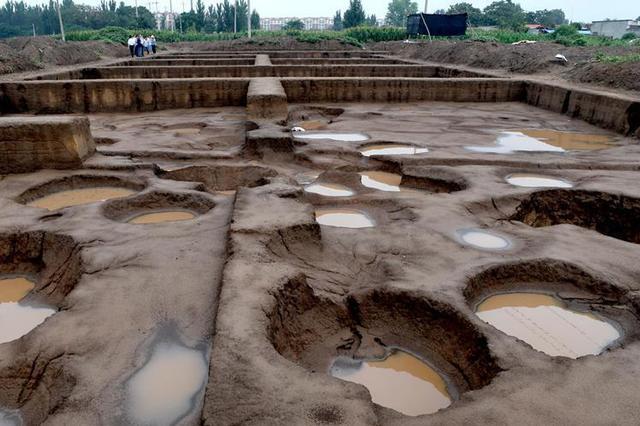 河南再次考古发掘刘庄遗址