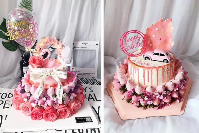 好吃走心颜值高!郑州这家私人定制蛋糕给你独一无二的甜蜜~