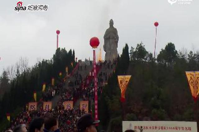 医圣张仲景诞辰1868周年 百万人线上祭拜祈福