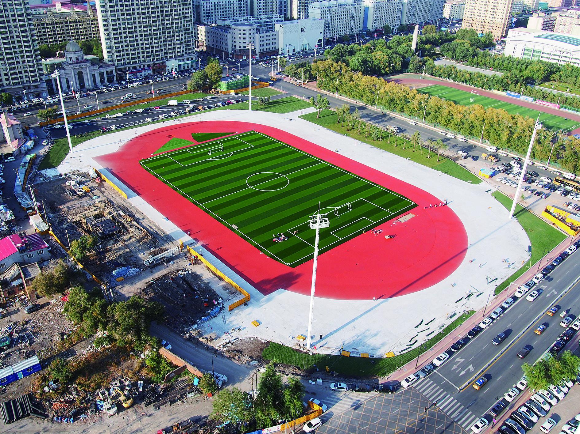 哈尔滨八区体育场焕然一新预计30日起对外开放