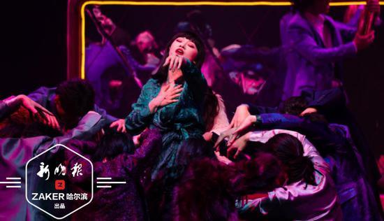 将东野圭吾经典小说搬上舞台 音乐剧《白夜行》冰城首演燃爆了