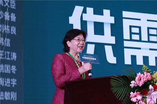中国饭店协会副会长平安稳致辞