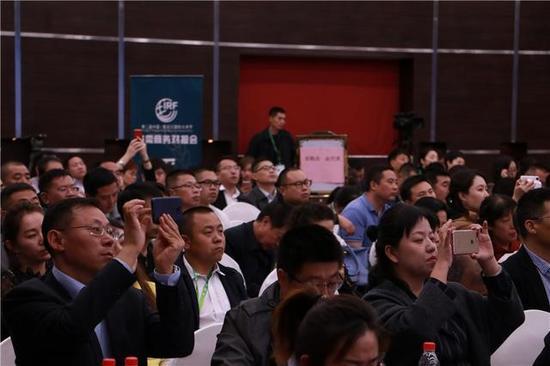 第二届中国·黑龙江国际大米节供需商务对接会现场