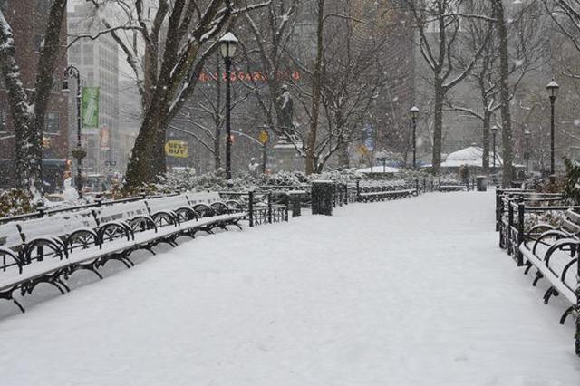 连续38天无有效降雪 哈尔滨市下周继续干冷天