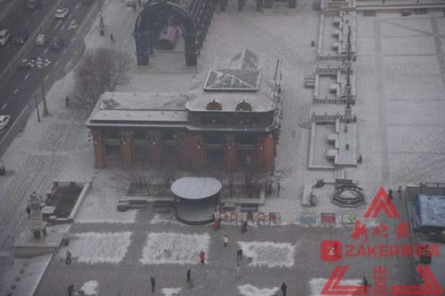 0.2mm雪量虽小但挺及时 15日冰城有4-5 级大风