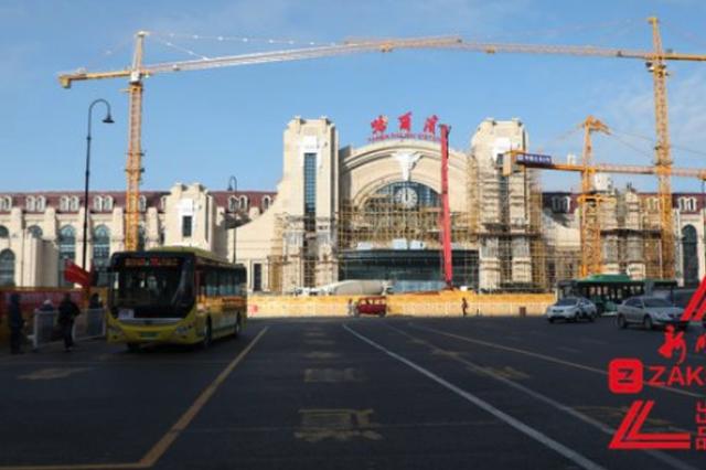 新建哈尔滨站最快年末全投用 可容纳旅客1.5万人
