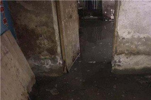 """哈市松源街周边地下室全""""泡""""了 抽水泵昼夜不停"""