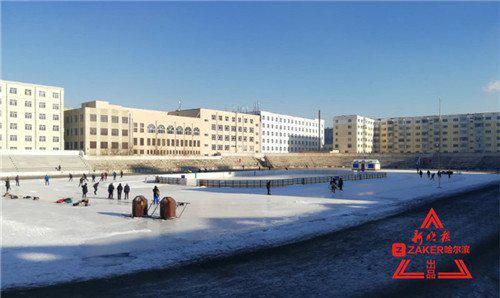 哈尔滨市江北的小伙伴看过来 呼兰冰场开滑了