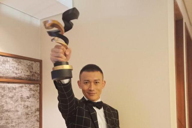 """聂远发文感谢微博之夜荣誉 自侃是""""腊肉""""男神"""