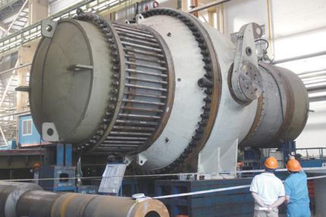 哈电电机研制成功国内首台大型立