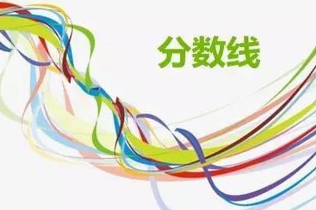 黑龙江省成人高校招生考试最低录取控制分数线划定