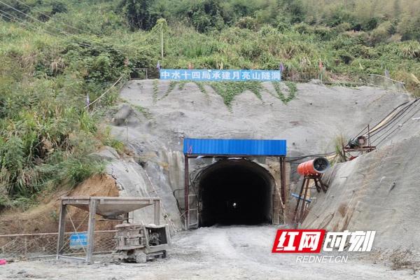 发现季氏金线鲃的涔天河左干1渠隧道。