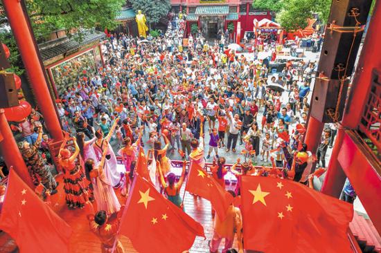 """国庆黄金周旅游收入87亿元 长沙正成为更多人向往的""""诗与远方"""""""