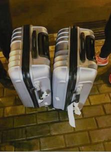 【教育整顿·我为群众办实事·株洲】株洲荷塘公安:下车拿错行李箱 民警助力物归原主