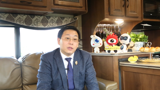 伊宅购董事长谭远程接受新浪湖南专访