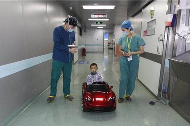 """长沙男童开""""豪车""""做手术 手术室还有专属停车位"""