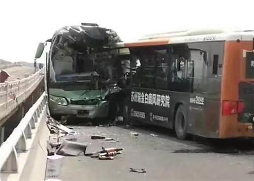 苏州游一公交车_苏州太湖大桥公交大客车相撞 目前已造成2死38伤_新浪江苏_新浪网