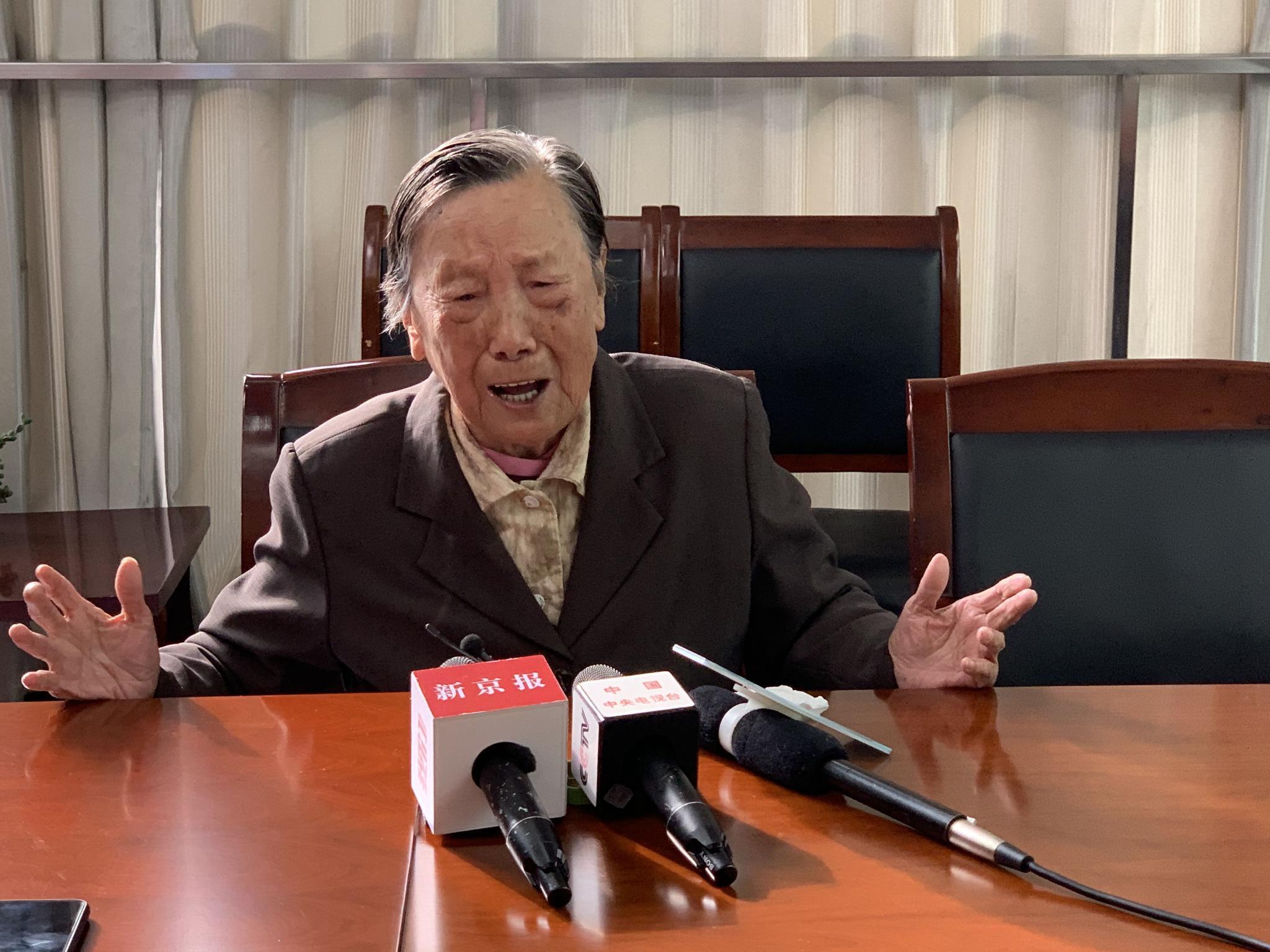 夏淑琴。 新京报记者 李阳 摄