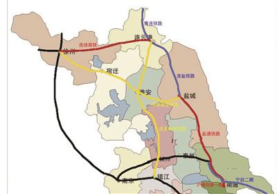 近3年江苏铁路重点项目通车计划。
