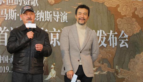 话剧《浮士德》世界首演 尹铸胜廖凡南京演绎全新魔幻世界
