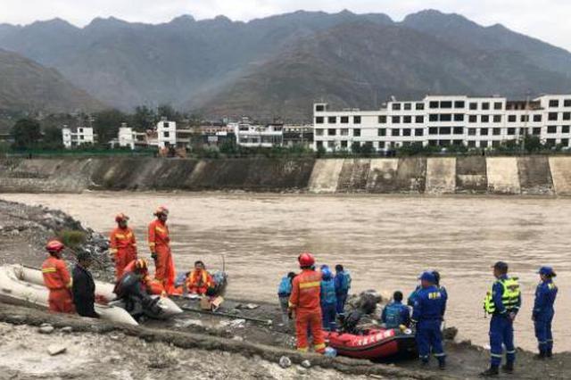 陇南车辆坠江事故最后2名失踪人员遗体全部找到