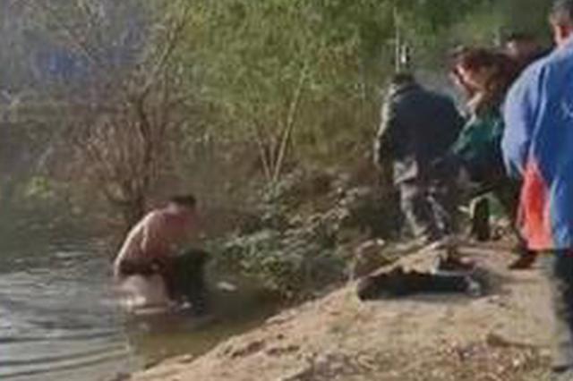 徐州小伙跳水救人后悄然离开 视频记录下施救全程