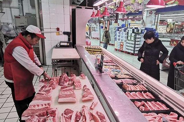 苏州市分批向市场投放部分市级储备猪肉 总量达500吨