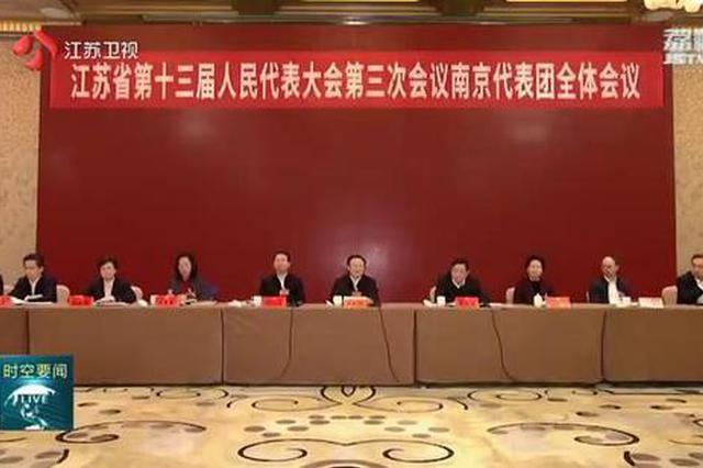 吴政隆参加南京代表团审议 争当以新发展理念引领高质量发展排