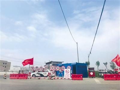 响水化工园区仍处于警戒状态,需要通行证才能进入。B04-B05版摄影/新京报记者 林子