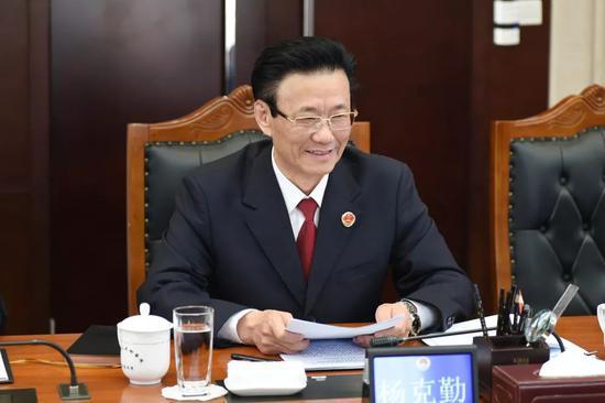 4月22日,吉林省人民检察院召开2019年度领导班子扫黑除恶专项斗争专题民主生活会