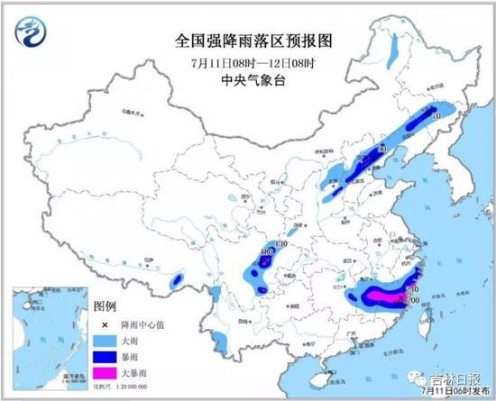 新万博manbetx下载app省进入主汛期 首场区域性强降水天气来临
