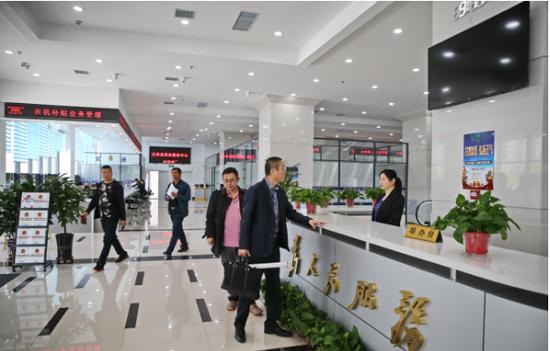 汪清县政务服务中心政务大厅乔迁新址