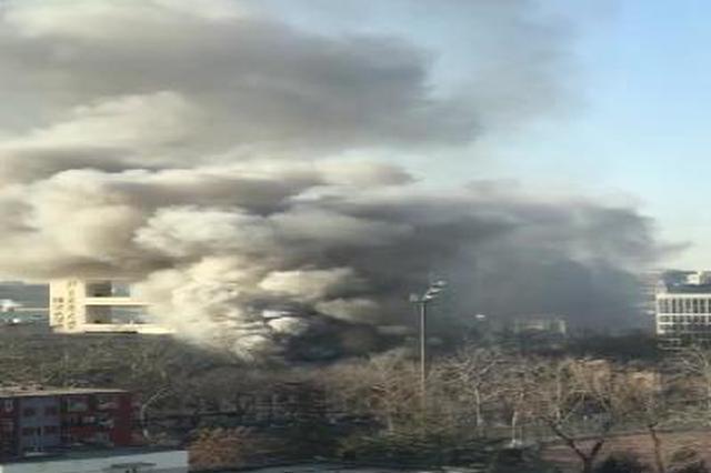 北京交通大学东校区实验室内发生爆炸