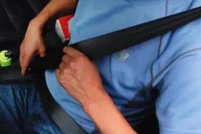 7月起 吉林市司机、乘客要扎安全带 违者至少罚50块