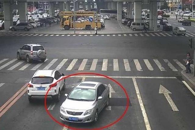 长春交警曝光一批交通违法车辆 看看都有谁