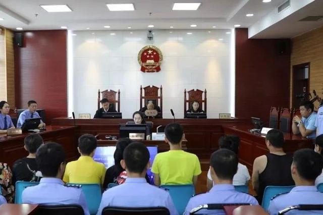 松原宁江区人民法院一涉恶案一审公开宣判 10人获刑