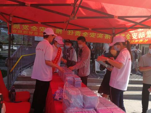 """吉林省暨长春市2021年""""安全生产月"""" 宣传咨询日活动在长春市雕塑公园隆重举行"""