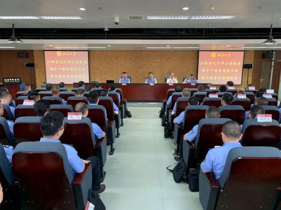 九江:一个月73名党员干部主动投案或说明情况