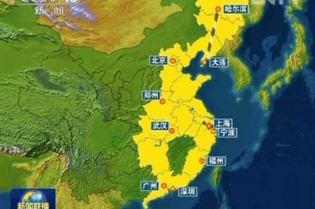 """央视网_江西最新高铁图:4个城市形成""""十""""""""大""""字交汇_新浪江西_新浪网"""